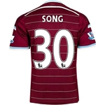 West Ham 14/15 SONG Home Soccer Jersey
