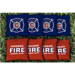 Chicago Fire Cornhole Bag Set