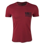 Life is Good USA Stay True Pocket T-Shirt (Red)