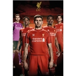 Liverpool 14/15 Players Poster