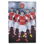 Arsenal 14/15 Players Poster