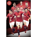 Manchester United 14/15 Players Poster