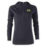 Brazil Women's 1/4 Zip Training Hoody
