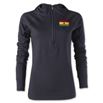 Ghana Women's 1/4 Zip Training Hoody