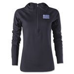 Greece Women's 1/4 Zip Training Hoody