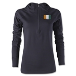 Cote d'Ivoire Women's 1/4 Zip Training Hoody