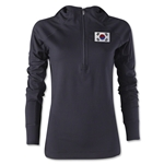 South Korea Women's 1/4 Zip Training Hoody