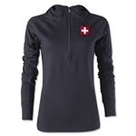 Switzerland Women's 1/4 Zip Training Hoody