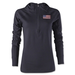 USA Women's 1/4 Zip Training Hoody