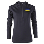Ukraine Women's 1/4 Zip Training Hoody