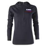 Slovenia Women's 1/4 Zip Training Hoody