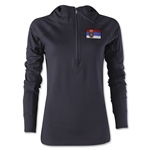 Serbia Women's 1/4 Zip Training Hoody