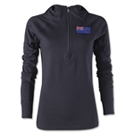 New Zealand Women's 1/4 Zip Training Hoody