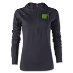 Zambia Women's 1/4 Zip Training Hoody