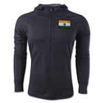 India 1/4 Zip Training Hoody