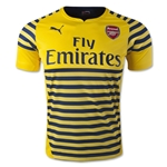 Arsenal Prematch Jersey (Yellow)