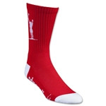Adrenaline Lacrosse Carlsons Socks (Red)