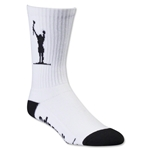 Adrenaline Lacrosse Carlsons Socks (White)