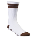 Adrenaline Lacrosse J-Train Socks (Brown)