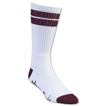 Adrenaline Lacrosse J-Train Socks (Wh/Ma)