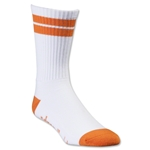 Adrenaline Lacrosse J-Train Socks (Wh/Or)