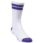 Adrenaline Lacrosse J-Train Socks (Wh/Pu)