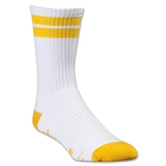 Adrenaline Lacrosse J-Train Socks (Wh/Yl)