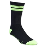 Adrenaline Lacrosse J-Train Neon Sock (Blk/Yellow)