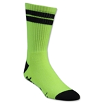Adrenaline Lacrosse J-Train Neon Sock (Yl/Bk)
