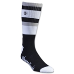 Adrenaline Lacrosse The Director Socks (Blk/Wht)