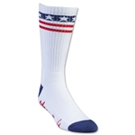 Adrenaline Lacrosse The USA's Socks (White)