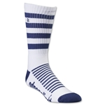 Adrenaline Lacrosse Super J-Train Socks (Wh/Nv)