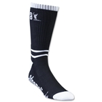 Adrenaline Lacrosse Data Socks (Black)