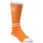 Adrenaline Lacrosse Data Socks (Orange)