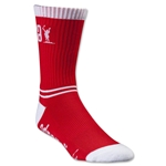 Adrenaline Lacrosse Data Socks (Red)