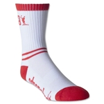 Adrenaline Lacrosse Data Socks (White)