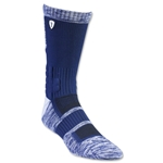 Adrenaline Lacrosse Strife Socks (Navy/White)