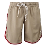 Adrenaline Lacrosse Youth Throwback Mesh Shorts (Tan)