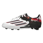 adidas Messi 10.3 FG Junior (White/Granite/Scarlet)