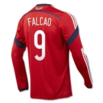 Colombia 2014 FALCAO LS Away Soccer Jersey