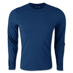 adidas Long Sleeve Logo T-Shirt (Navy)