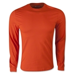 adidas Long Sleeve Logo T-Shirt (Orange)