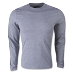adidas Long Sleeve Logo T-Shirt (Gray)