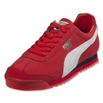 PUMA Roma NBK Perf Leisure Shoe (Red)