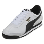 PUMA Roma Basic Leisure Shoe (White/Black)