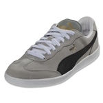 PUMA Liga Suede Leisure Shoe (Limestone Grey/Black/White)