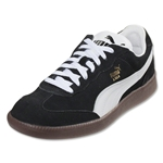 PUMA Liga Suede Leisure Shoe (Black/White)