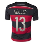 Germany 2014 MULLER Youth Away Soccer Jersey