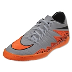 Nike Hypervenom Phelon II IC (Gray/Total Orange)