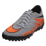 Nike Hypervenom Phelon II TF (Gray/Total Orange)